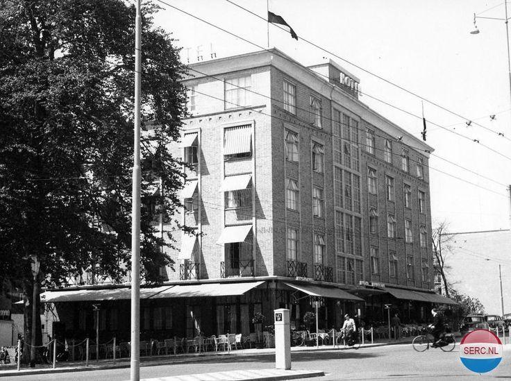 Hotel Haarhuis aan het Stationsplein