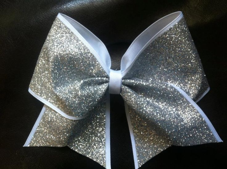 Sparkly Cheer Bow. $10.00, via Etsy.