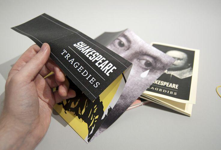 Shakespeare posters - Andreas Johansen, graphic designer