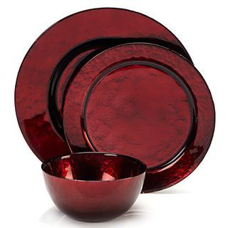 Celebration Dinnerware - Red - Set of 4 for $35.80.
