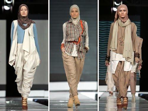 trend busana wanita : Gaya Busana Muslim Terbaru