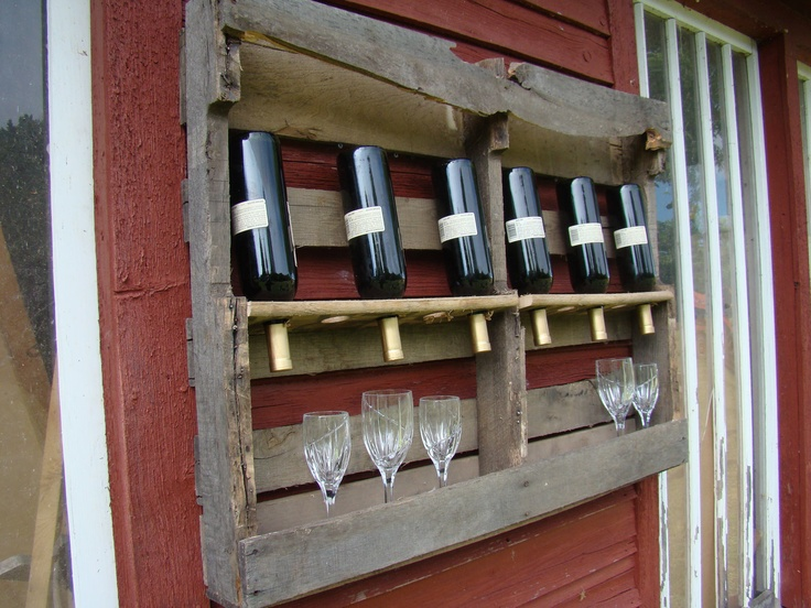 pallet project wine rack 2