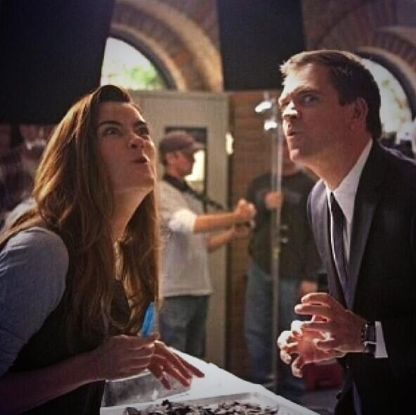 Tony and Ziva - my word I LOVE these two!