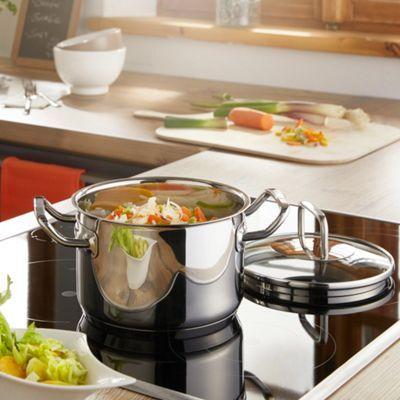 Ideal Kochtopf aus Edelstahl von R SLE Kochen wie ein Profi Tage R ckgaberecht Jetzt online bei m max bestellen