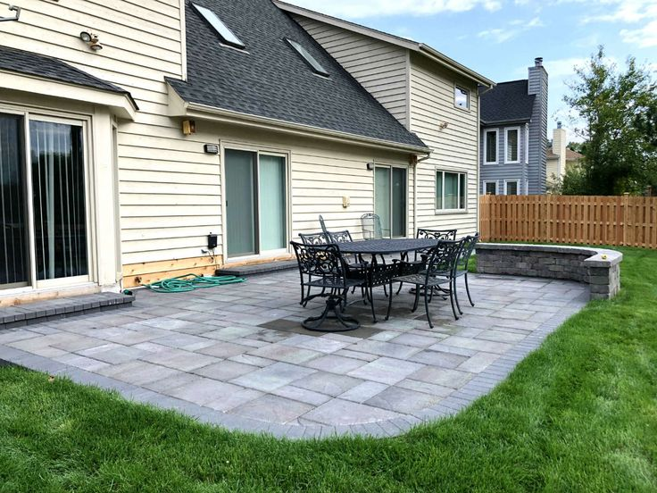 This Belgard Paver Patio Was Custom Designed And Built By Buffalo Grove, IL  Patio Designer
