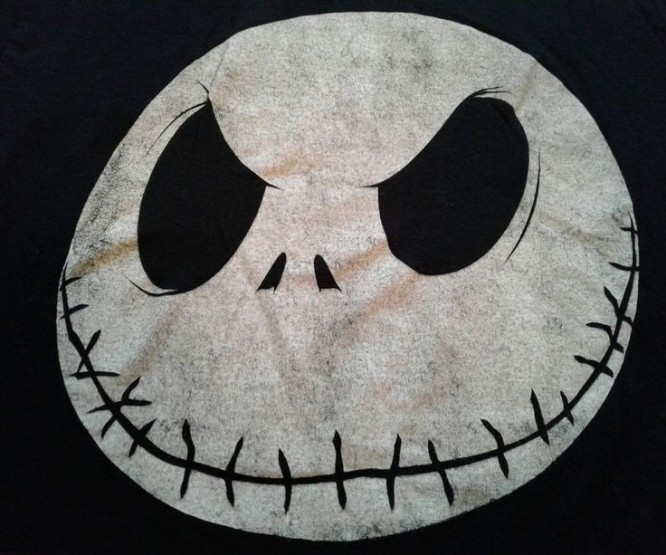 Nightmare Before Christmas Shirt Distressed Smiling Jack Face halloween SM SMall #nightmarebeforechristmas #BasicTee