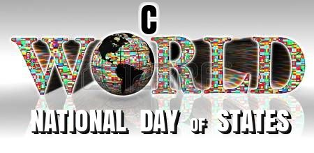 Heraldry,Art & Life: C - NATIONAL DAY of the WORLD