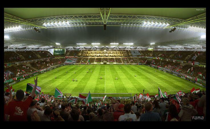 Legia stadium Warsaw