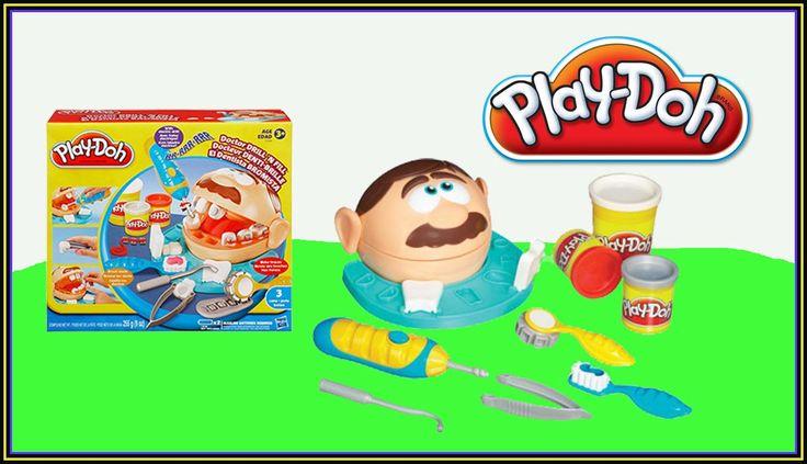 Play Doh Doctor Drill'n Fill Docteur Denti-Brille El dentista bromista -...