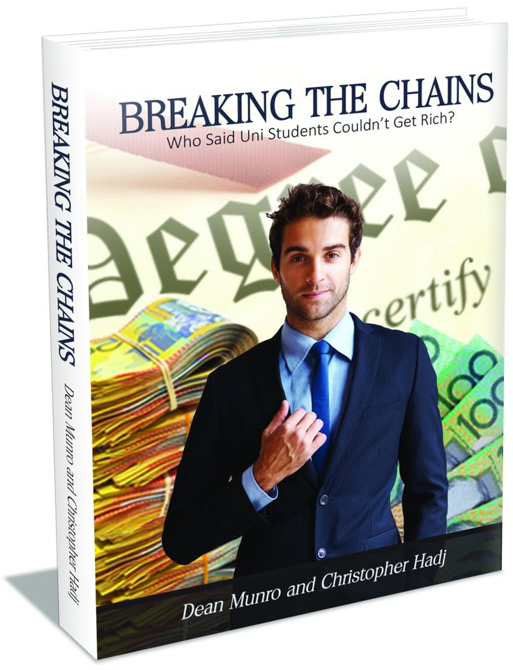 This is an extremely comical true Australian story of a uni student who went from rags to riches before actually graduating from uni - A must read book! www.breakingthechains.com