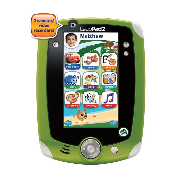 When he's 3 years old I'd like to get one o these.  LeapFrog LeapPad2 Explorer Learning Tablet - Green -