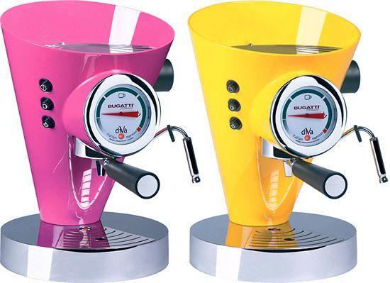 Bugatti Diva 15-Bar Pump Espresso Machine    @Ryan Lampe - this might be cool