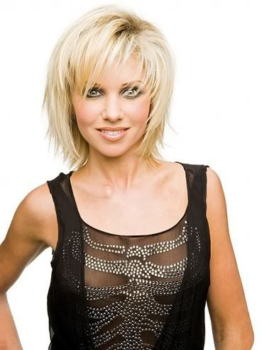 Hairstyles Trendy Choppy Cropped Bob Short to Medium Length Hair Haircuts Styles 2011 Pictures