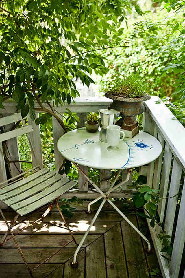 HOME & GARDEN: 60 ideas to organize his balcony