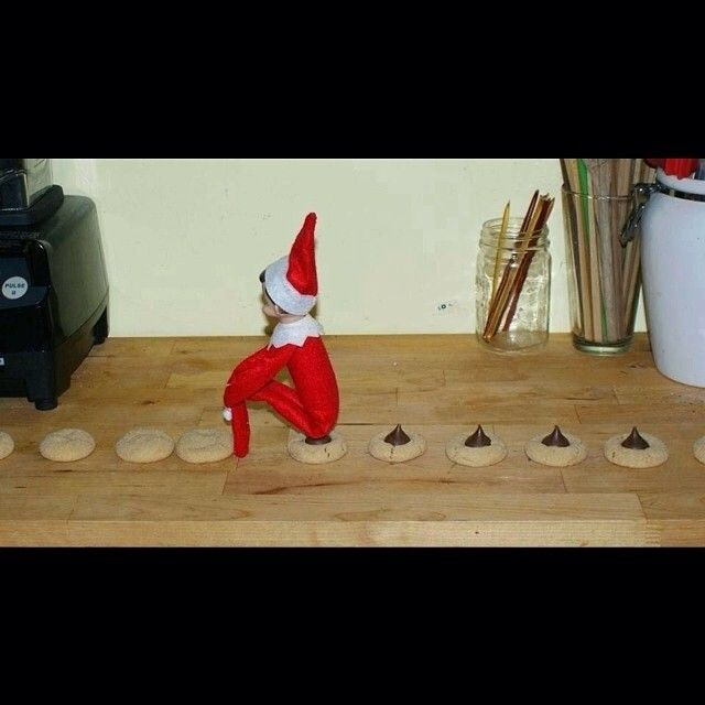 17 best images about elf on a shelf on pinterest shelves for Elf on the shelf pooping on cookies