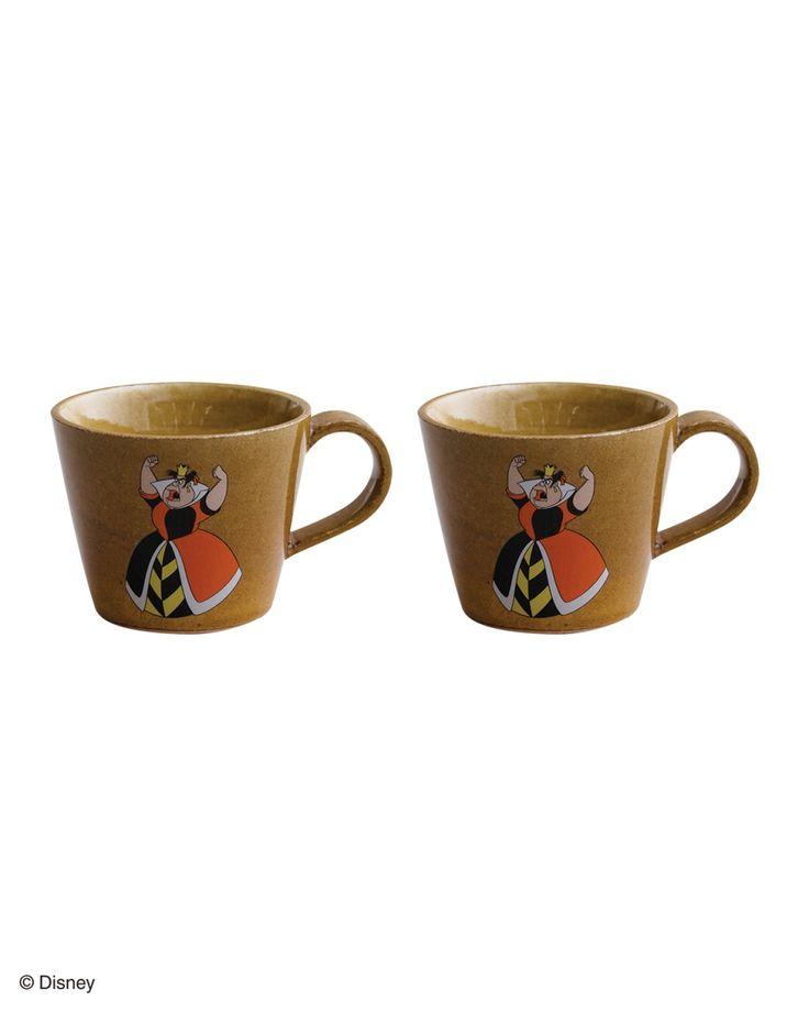 【3月7日(火)まで】 ASPLUND KITCHENのハートの女王マグカップ2個セットを期間限定のセール価格で購入できます。