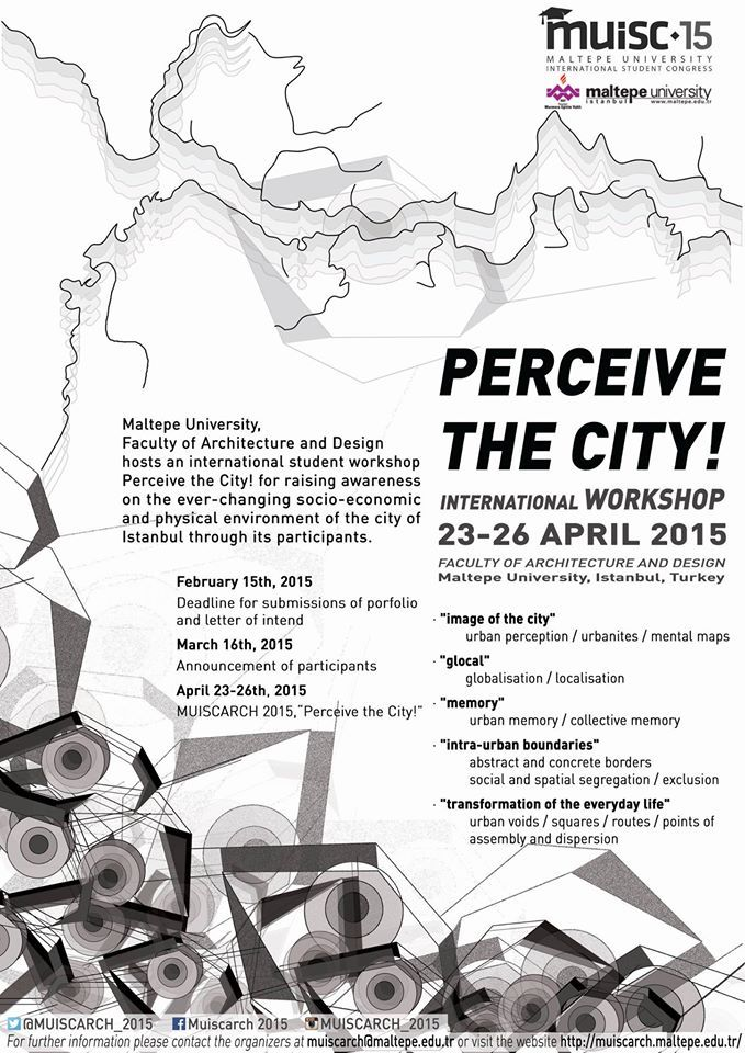 International Student Congress of Faculty of Architecture and Design, Maltepe University | ARCH-student.com