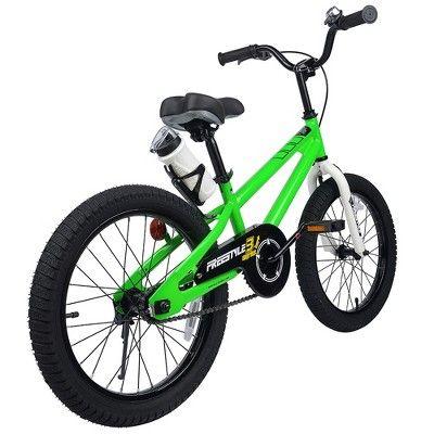 9eef3a7c00e9 RoyalBaby Freestyle 18 Bike - Green   Products   Bike, Green, Bicycle