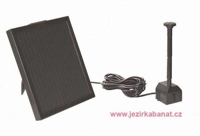 Pontec PondoSolar 150 - solární čerpadlo pro jezírka bez elektrického připojení : Jezírka Banat s.r.o.