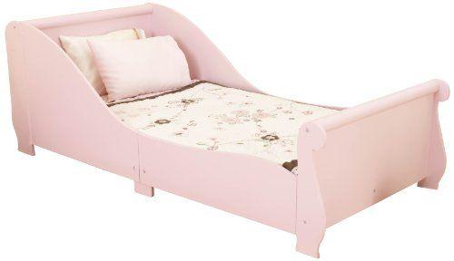 excelente KidKraft 86735 - Cama infantil en color rosa en forma de trineo [Importado de Alemania]
