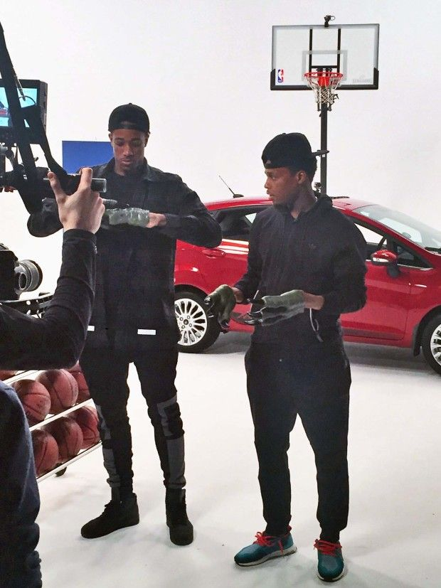 Kyle Lowry and Demar DeRozan – Ford Is this the year the Toronto Raptors finally make a deep run in the NBA playoffs? Anything less than a trip to the East finals will be viewed as a disappointment. To make that run, the team will rely on its all-star dynamic duo. As posted on Lowry's Twitter account, the pair recently teamed up to film a spot for Ford. (Previously, DeRozan has been photographed with a Mercedes G-Class as well.) Read more at…