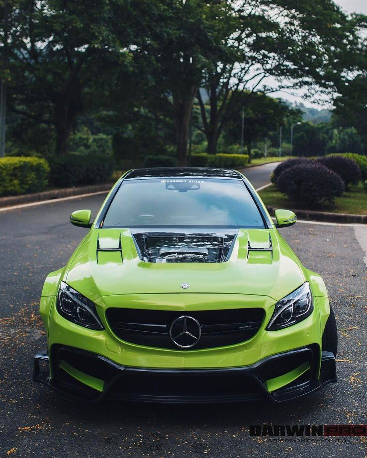 Wide body mercedes benz c63s amg w205 see this instagram for Mercedes benz c63s