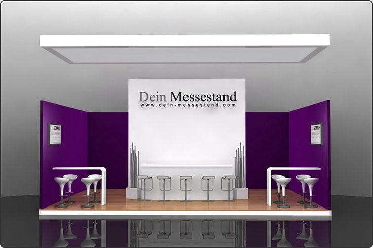 Messestand Berlin - Beispiel Messebau Design Berlin