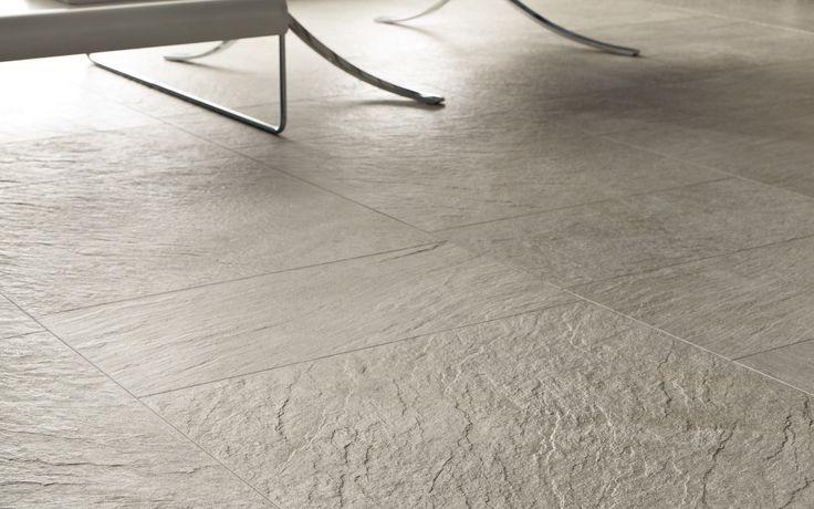 Roxstones - Silvergrey #caesarceramiche #stoneeffect #ROXSTONE #living #relax #indoor #madeinitaly #gresporcellanato #tiles