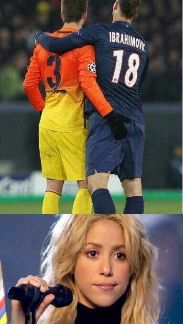 Poor Shakira