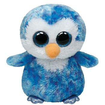 Ice Cube the Blue Penguin - Regular Beanie Boo | Beanie Boos Australia