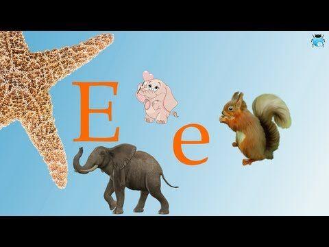 ▶ Lettre E: Apprendre l'alphabet Français pour enfants - YouTube