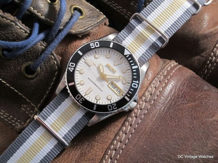 NEW DCVW AUCTION: Early 1997 Seiko 7S26-0050 Automatic Diver, w/CW Synergy NATO Strap