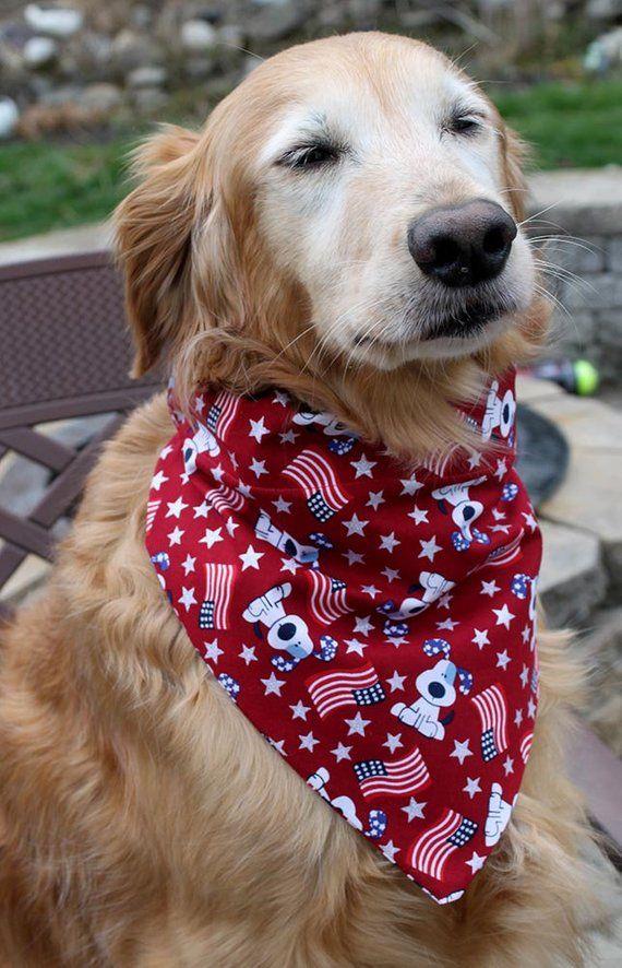 Dog Bandana Flags Flags Dog over the collar Scarf