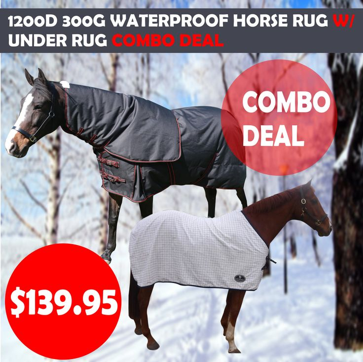 100 % Waterproof Winter Paddock Horse Rug 1200D 300G W/ Cotton Under Rug Platinum horse rug is made out of waterproof and breatheable 1200D ripstop polyester outer shell with 300G fill and natural cotton lining. Will keep your horse extremely comfortable and warm during the cold winter season. Superior choice of fabric and fine detailing in manufacturing put this in class apart from cheap paddock sheets floating around.
