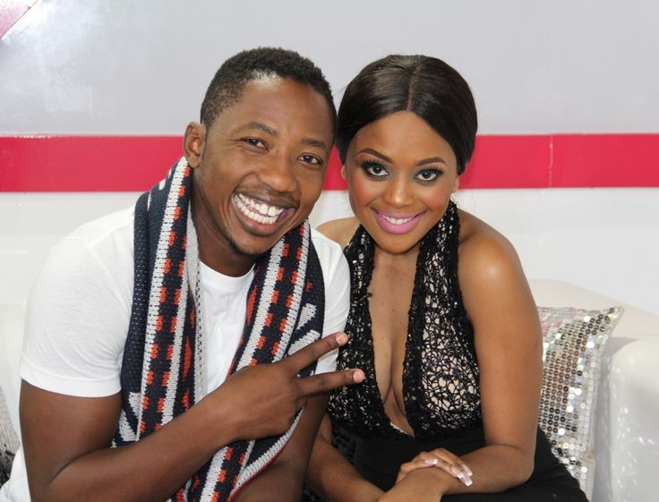 Andile Ncube and Lerato