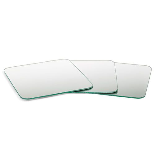 Safety Mirrors - set of 3 - Explore reflections with this set of acrylic safety mirrors.