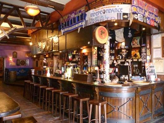 """""""The Shamrock Irish Pub"""", more details on this spot (only in French) : http://fr.nomao.com/5118283.html"""