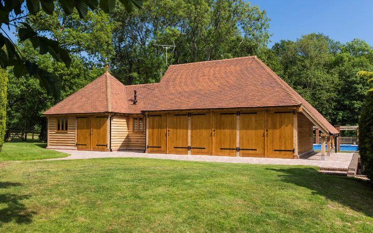 Dorking, England storage barn