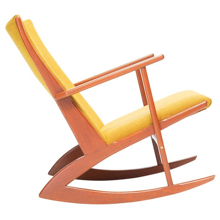 Rocking Chair by Holger Georg Jensen for Kubus