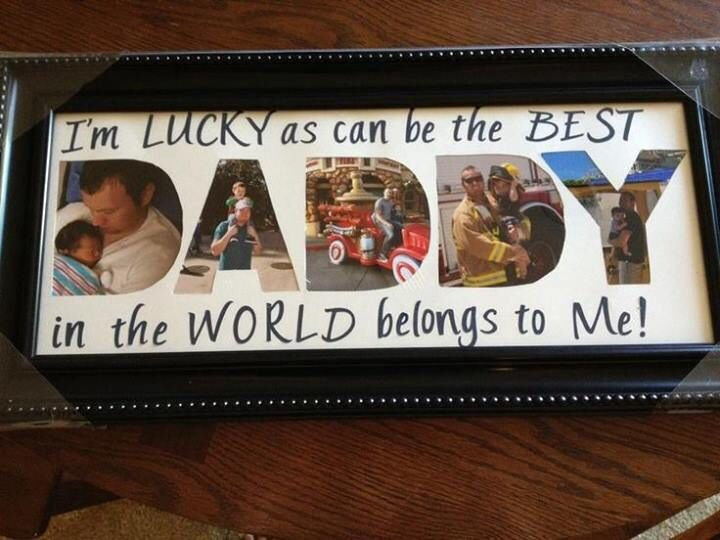 picture frame for daddy