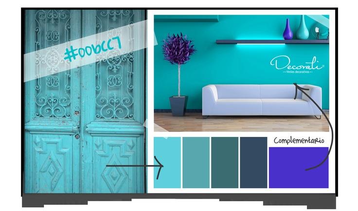 Propuestas de color para interiores por Decorati