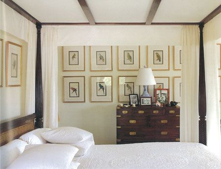 108 best british colonial style images on pinterest for Plantation style bed