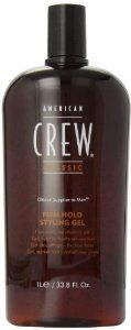 American Crew Firm Hold Styling Gel, 33.8-Ounce Bottle - See more at: http://supremehealthydiets.com/category/beauty/hair-care/styling-products/#sthash.gLWyDF5q.dpuf