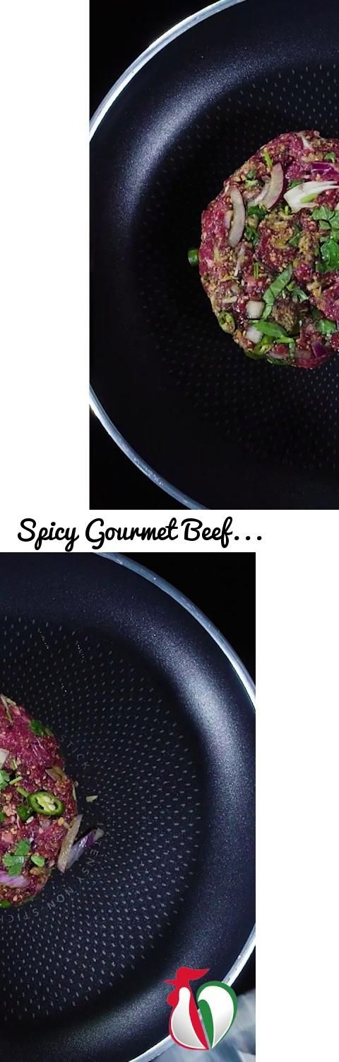 Spicy Gourmet Beef Burgers - Tariq Halal Recipes... Tags: there is only one, tariq halal, tariq, halal, tariq halal meats, tariq halal meat, meat, meats, innovate dont immitate, lead the way, recipe, recipes, beef, burger, spicy, brioche, bun, quiqup, hgat, instafood, food, hungry, we cook you eat, quick idea, convenience, halal meat, halal burger, halal food, tasty, eat, delicious, yummy, yum, yum