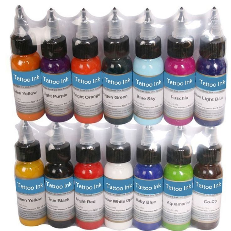 29.02$  Buy here - http://ali2vv.shopchina.info/1/go.php?t=32780720606 - Tattoo Inks 14 Colors 30ml/bottle Tattoo Pigment Inks Set For Body Tattoo Art Kit Free Shipping by nani 29.02$ #buyonlinewebsite