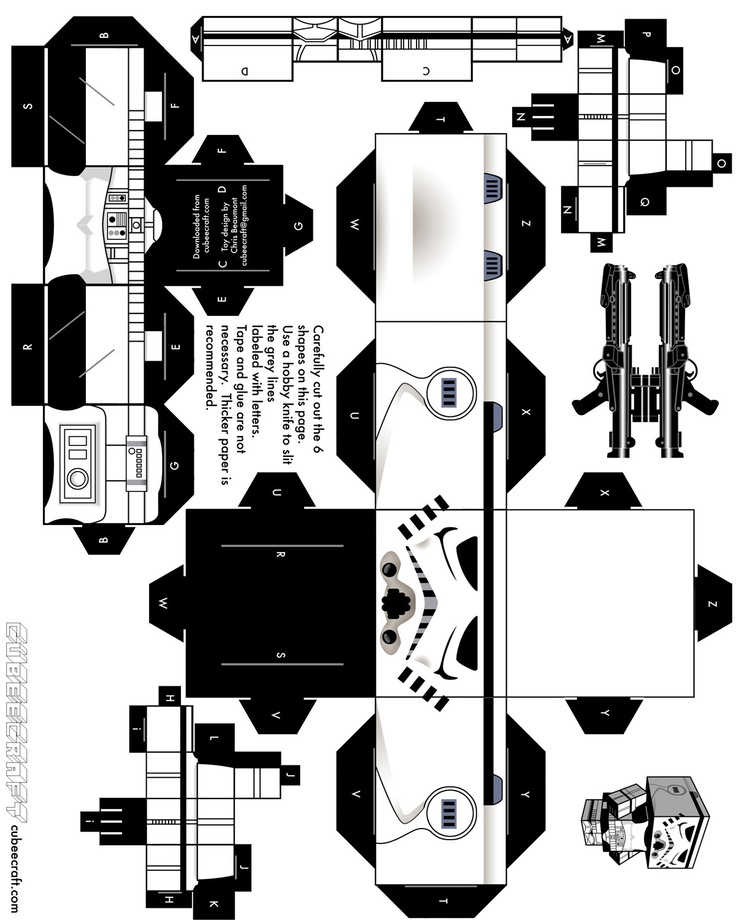 86 best star wars cubeecraft images on pinterest. Black Bedroom Furniture Sets. Home Design Ideas