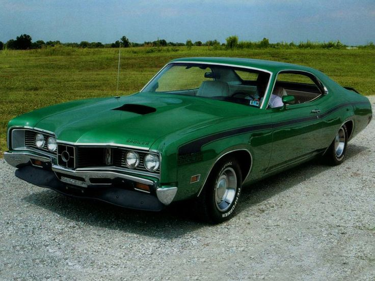 Mercury Cyclone Spoiler Ford Mercury Muscle Cars Pinterest