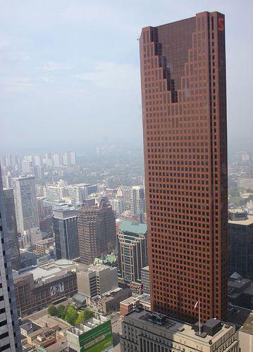 Scotia Plaza, Toronto - WZMH Architects (2010) - 68 stories/275m - Postmodern