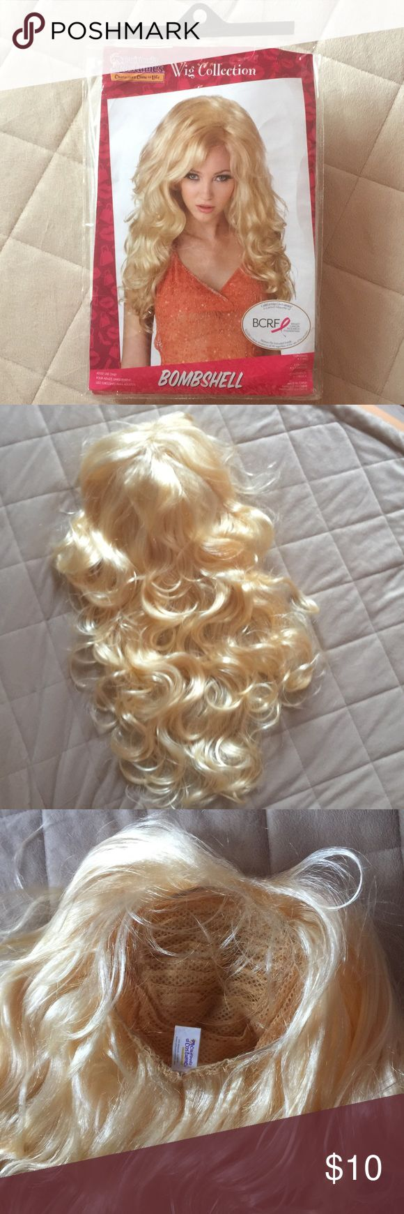 "CALIFORNIA Costumes--WIG Bombshell New, never used, length 20"" apx acrylic CALIFORNIA Costumes Accessories"
