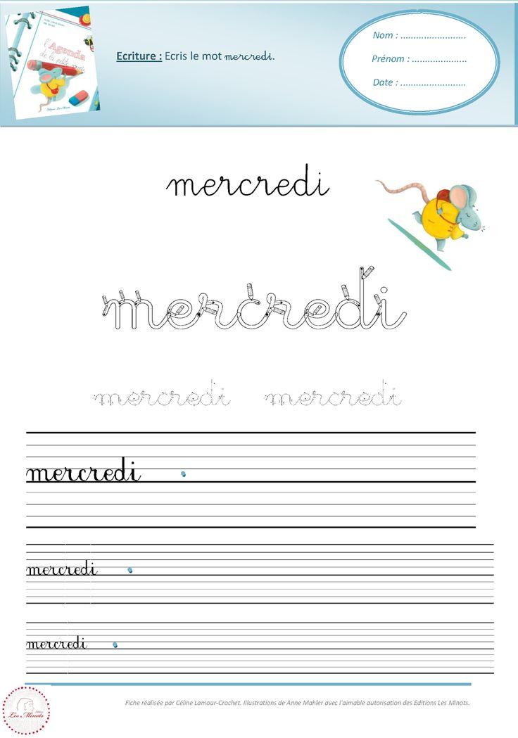 Plein de fiches disponibles ici à partir de ce livre : http://www.editionslesminots.com/album-agenda-souris.php